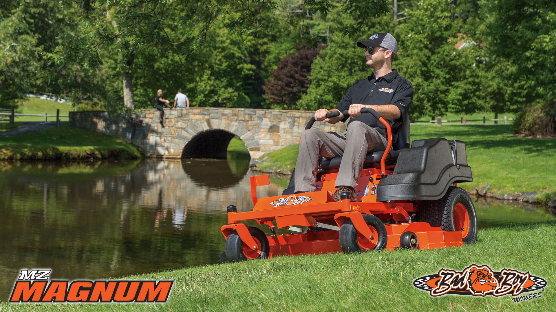 Bad Boy MZ Magnum 2016 Zero Turm Mower