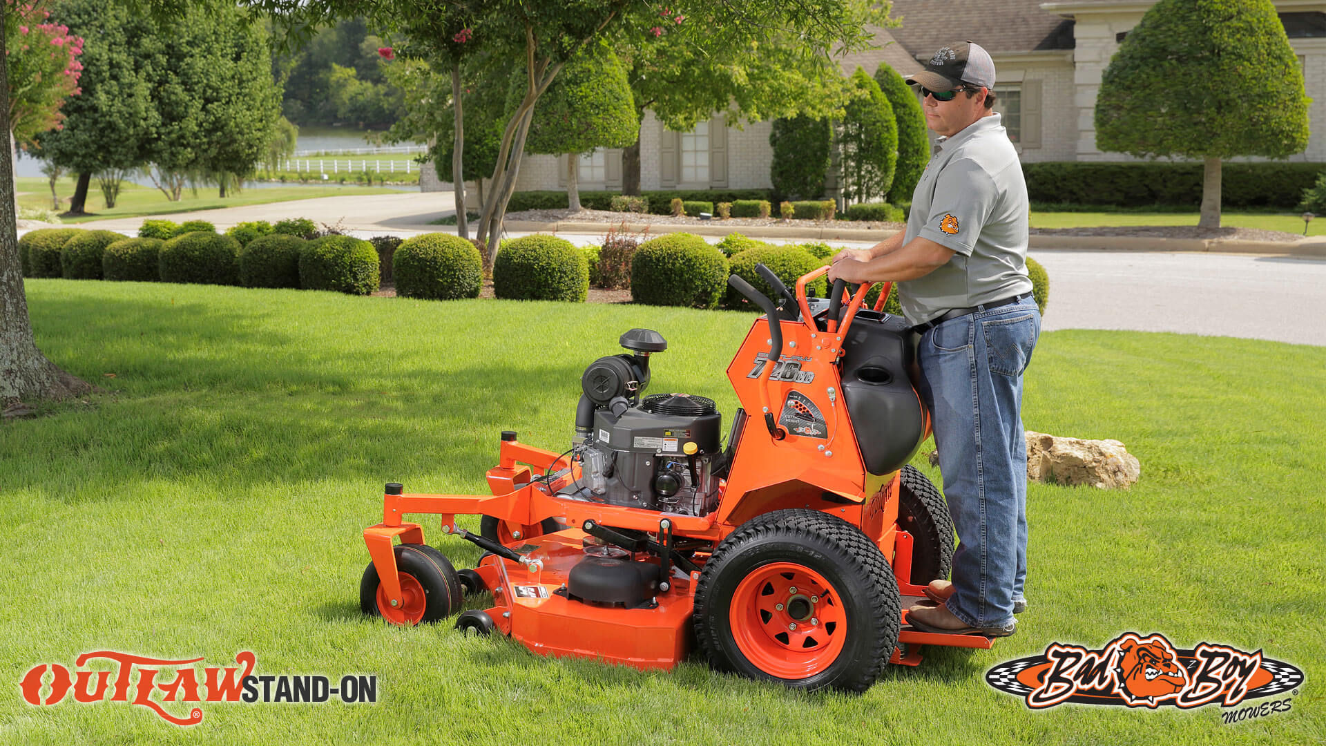 Outlaw Stand On 2016 Zero Turn Mower