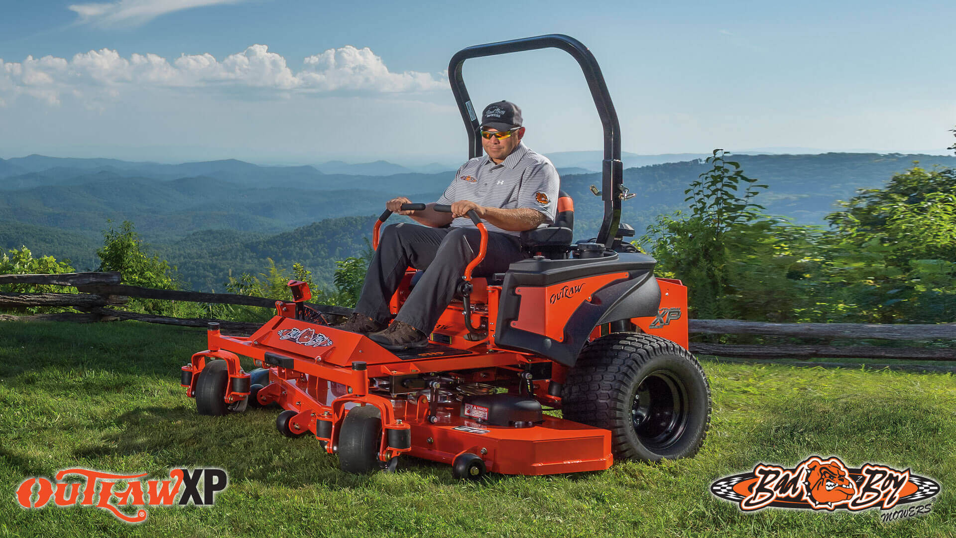 Bad Boy Outlaw XP 2016 Zero Turn Mower
