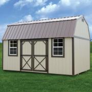 Derksen 0014 painted side lofted barn thmb