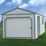 Derksen 0020 painted portable garage thmb