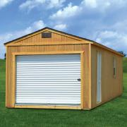 Derksen 0024 Treated Portable Garage thmb
