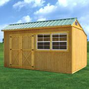 Derksen 0025 Treated Cottage Shed thmb
